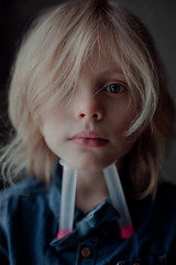 """God exists"" (Dalla*) Tags: light boy portrait window kid child natural god thinker science believe denim believing theology sense sensible wwwdallais"