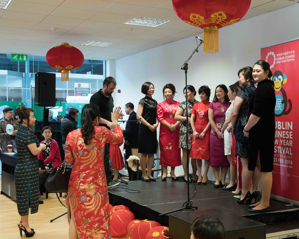 CHINESE COMMUNITY IN DUBLIN CELEBRATING THE LUNAR NEW YEAR 2016 [YEAR OF THE MONKEY]-111611
