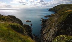 View from Marine Drive. (Chris Kilpatrick) Tags: chris sea nature water coast outdoor cliffs douglas isleofman marinedrive irishsea nokialumia1020