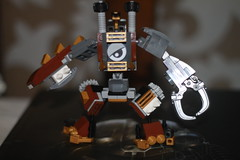 Tooth and Nail 1 (kyreii) Tags: lego mech steampunk moc mixels