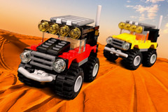 Lego Desert Chase (Lesgo LEGO Foto!) Tags: cute love fun toy toys desert lego minifig collectible minifigs creator racers omg collectable racer minifigure minifigures 31040 desertracer legophotography legography collectibleminifigures desertracers collectableminifigure coolminifig