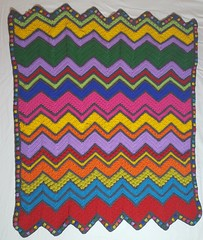Emmy Nicholson (The Crochet Crowd) Tags: game stitch right blanket afghan throw crochetblanket thecrochetcrowd stitchisright