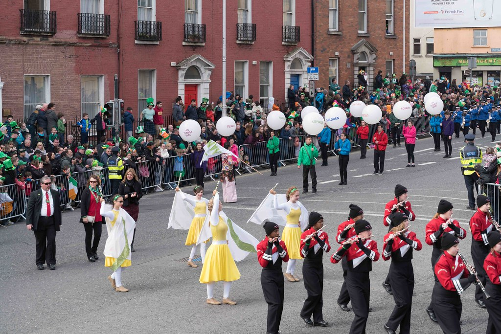 WHITEWATER HIGH SCHOOL WILDCAT MARCHING BAND [PATRICK'S DAY 2016]-112486