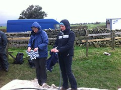 helen and carol cleaning fibre (b4ruralnorth) Tags: yorkshire lancashire jfdi cumbria spades barnstormers heroines b4rn digitalbritain ladiesofgrit