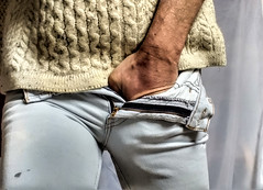 Pull-the-Wool (imimak) Tags: boss blue gay hairy man male adam wool up look hair real fun grey drive fly friend funny soft alone hand close pants natural underwear legs image skin masculine walk buttons candid hunk crotch buddy jeans desire thighs briefs fantasy attractive zipper strong peek worker shorts curious knitted straight tight mate amateur package zip bulge