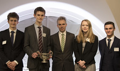 Target Two Point Zero competition winners 2015/2016 (Bank of England) Tags: school competition grammar pates targettwopointzero