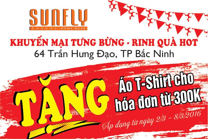 Sunfly tưng bừng khai trương đại lý mới tại thành phố Bắc Ninh