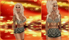 Not To Touch Me  (Miky Ambrosio) Tags: world black project grid mesh body omega womens dot event international bloggers blogspot monthly belleza directory syndicate the maitreya applier einc slfeeds