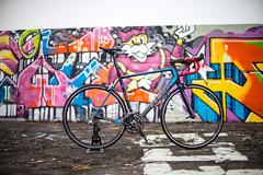 DSC05913 (Gumundur Rbert) Tags: bike 50mm cycling iceland paint sony spray ii cube carbon fiber hafnarfjrur a7 shimano f095 sram fizik sworks a7ii c68 mitakon