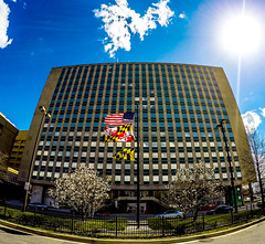 301 West Preston St (StateMaryland) Tags: city building march office downtown state baltimore anthony government employee burrows 2016