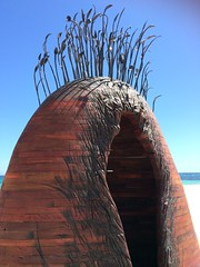 Manscape - Tony Davis (Figgles1) Tags: sea sculpture cottesloe sculpturebythesea sculptures iphone 2016 img0743 tonydavis manscape