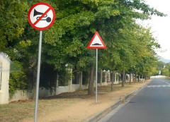Road Signs (RobW_) Tags: africa road signs march south saturday western cape stellenbosch 2016 paradyskloof 05mar2016