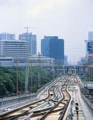 Thailand - Bangkok - Skytrain (railasia) Tags: thailand bangkok infra tracklayout nineties bts thirdrail mochit sukhumvitline phahonyothin routenº1 elevatedstructure metrosubwayunderground