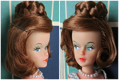 3. Titian Tressy (Foxy Belle) Tags: hair doll character pins american bobby makeover 1960s curl braid titian tressy