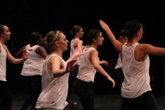 Rehearsal for Ann Arbor Dance Classics 2016 Benefit Show (Saline High School, Michigan) (cseeman) Tags: students dance dancers dancing michigan performance annarbor saline benefitconcert dancerecital salinehighschool dancestudios annarbordanceclassics aadcbenefitshow2016 aadcbenefit03192016 aadcbenefit2016