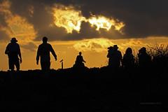Heading back to the yacht ~ Genovesa Island, Galpagos Islands (2015 Day 2) (Ian_125) Tags: sunset landscape ecuador dusk tm ez galpagosislands genovesaisland galpagosmockingbird elbarranco galpagos2015 galpagos2015day2