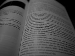 Get Smart (raymondclarkeimages) Tags: blackandwhite usa monochrome photography mono book words focus dof text olympus depthoffield instructions manual raymondclarkeimages 8one8studios 17mm18 em5mk2