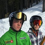 Devin Mittertreiner and Nic MacDonald (Fernie Alpine Ski Team) won BC Alpine's 2016 video contest