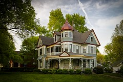 The Brummall House (Notley) Tags: sky house home architecture clouds spring neighborhood april salisbury manor 2016 10thavenue notley charitoncounty ruralphotography notleyhawkins missouriphotography httpwwwnotleyhawkinscom notleyhawkinsphotography salisburymissouri