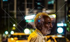 Don't make sense (Aaditbasu) Tags: road old india abstract man art lines hair circle metro outdoor delhi sony alpha 58 rajiv chowk