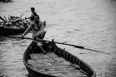 Untitled (niladry908) Tags: blackandwhite white black monochrome river boat outdoor dhaka bangladesh boatman nikkon d7000 shodorghat
