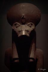 Dark Sekhmet (Monaggio) Tags: statue cat lion egyptian gata estatua sekhmet diosa leona egipcia lionheaded catheaded