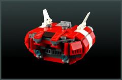 Cargo Ship CS-710 (FonsoSac) Tags: ship lego scifi moc microscale