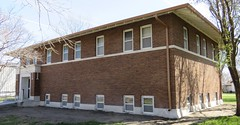 Carnegie Library (Shelton, Nebraska) (courthouselover) Tags: nebraska libraries ne shelton lincolnhighway buffalocounty carnegielibraries