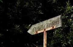 chapelle du Scex (bulbocode909) Tags: vert panneaux critures forts chapelleduscex