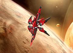 Star Citizen Xi'an Scout Khartu-Al (turbokiwi) Tags: fighter lego alien scout xian spaceship starcitizen khartual