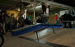 Nose Wheelie at 5050 Skatepark photo Chris Ciaburri (5050 Skatepark) Tags: new york city nyc island bmx scooter skatepark 5050 staten