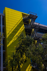 optus yellow (ghee) Tags: architecture canon exterior sydney officebuilding australia nsw offices 6d polariser ghee gwp macquariepark guywilkinsonphotography