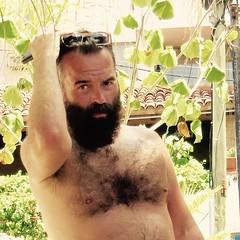 IMG_0822 (danimaniacs) Tags: shirtless man sexy guy beard mexico hunk puertovallarta stud scruff bodyhair mansolo
