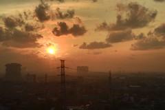 Surabaya #surabaya #sunrise #town #city (dhiyak) Tags: city sunrise town surabaya