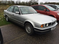 L916 OGY (Nivek.Old.Gold) Tags: auto bmw 1994 525i