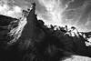 Lame Rosse, Gole del Fiastrone, MC (Raphaël Mangiapia) Tags: italy nikon nuvole natura cielo roccia marche paesaggio biancoenero macerata allaperto lamerosse goledelfiastrone formazionerocciosa