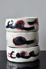 DSC_9720 (joone!) Tags: ceramics handmade bowl handpainted pottery handbuilt