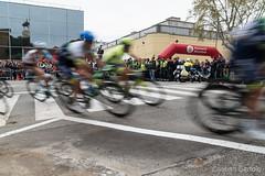 Bicycle race, Barcelona, April 2016 (Cristian Bertolo) Tags: barcelona bicicleta movimiento marzo bicicletas 2016 reportaje luznatural voltadecatalunya nikond750 llorenraich reportajedeactualidad