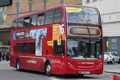 National Express West Midlands Alexander Dennis Enviro400 4804 (BX09 PFA) (Perry Barr) 'Elizabeth' (john-s-91) Tags: birmingham 4804 alexanderdennisenviro400 nationalexpresswestmidlands route16a bx09pfa uncharted4