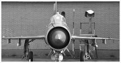 MiG-21BIS : MG-135 Serial : 75084554.... (Ciaranchef's photography.) Tags: russian coldwar mig militaryaviation russianaircraft mig21 militaryjets aircraftmuseum vintageaeroplanes finnishaviationmuseum aircraftphotography nikond7000 nikonaviation nikon18300mmf3556gedvr preservedaeroplanes