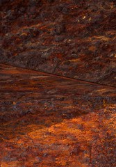 Angles in Rust DSC_0739 (Katrina Wright) Tags: texture rust pattern decay abstracts rustedwall