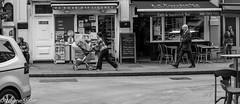 I'm late (Wayne Stiller) Tags: street people london modern book society interest phones ignore