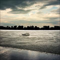 Rainy day on Danube's banks (Katarina 2353) Tags: river landscape europe serbia danube donau srbija zemun katarinastefanovic katarina2353