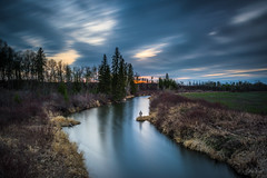 Me and The Earth [Explored] (WherezJeff) Tags: ca longexposure canada river alberta sturgeon earthday 2016 sturgeoncounty