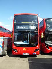 GAL MHV19 - BU16OZD - BV BELVEDERE BUS GARAGE - THUR 28TH APR 2016 (Bexleybus) Tags: new bus london buses ahead volvo garage go egyptian belvedere bv etb mcv goahead evoseti ehv19 bu16ozd