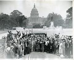 15 million signatures to support Townsend plan: 1936 (washington_area_spark) Tags: 1936 dc washington movement plan 15 social security million petition townsend pension