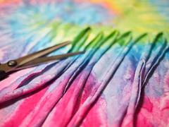 t-shirt DIY (akiko@flickr) Tags: diy tshirts multicolor arrange