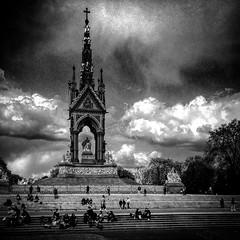 Brooding (Flamenco Sun) Tags: london moody brooding albertmemorial kensingtonpark