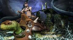 BC~SET 1 Legacy Realms Bridge & Steps boxed @Fantasy Faire2016 (Kai Wirsing) Tags: love bc turtle ruin enigma fantasy forge ro bamse the swagga fantasyfaire yasum