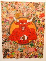 Tight Rope (Diablo Rojo), 2016 (CORMA) Tags: brussels art europe belgique bruxelles exhibition exposition artcontemporain 2016 tourtaxis camilorestrepo